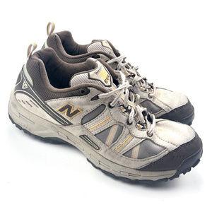 New Balance 644 Bass Tan Brown Suede Hiking Shoe